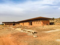 The secondary school is still in development.